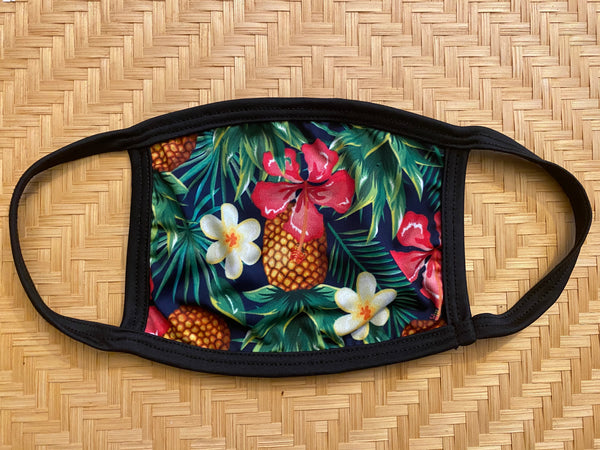 Floral pineapples Protective Dust masks (Limited Edition)