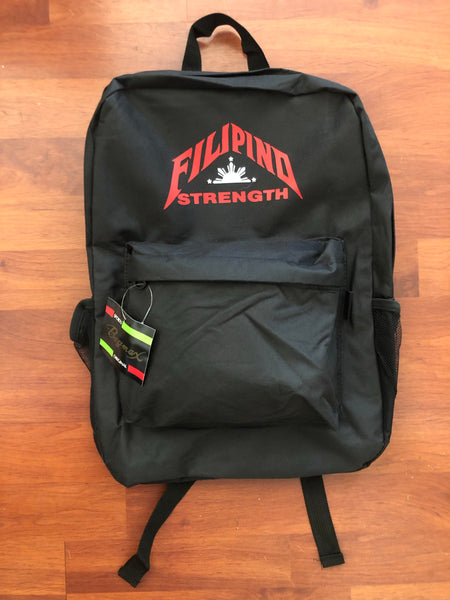 Filipino Strength Backpack Collection.