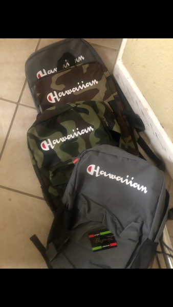 Hawaiian Champion Backpacks