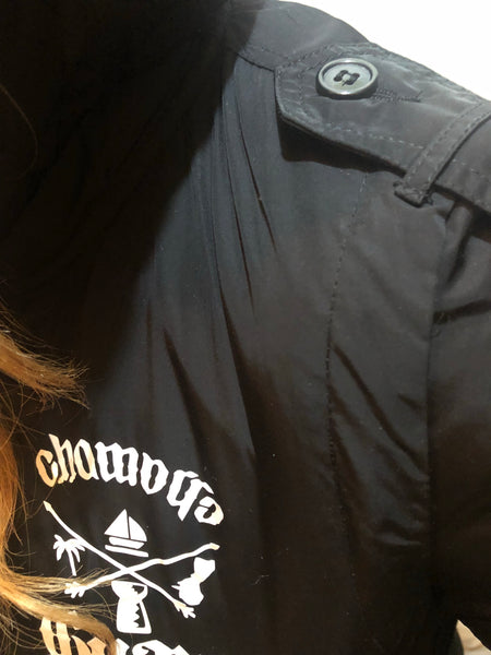 Chamorro Elements Hooded Bomber Jackets