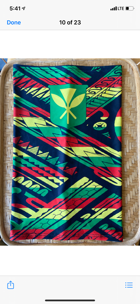 Hawaii Tribal tubular Bandanas