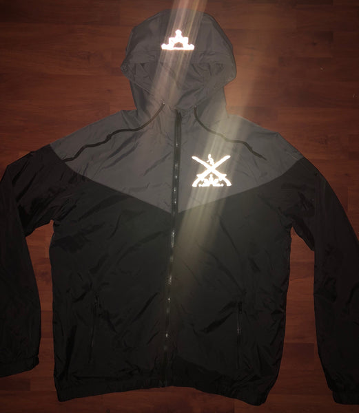 Reflective Swords 3 Stars and Sun Track Jacket