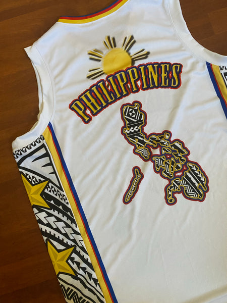 Philippines Tribal Sun white Jersey