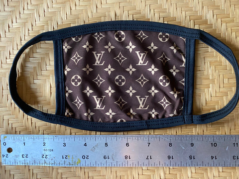 LV Brown mask