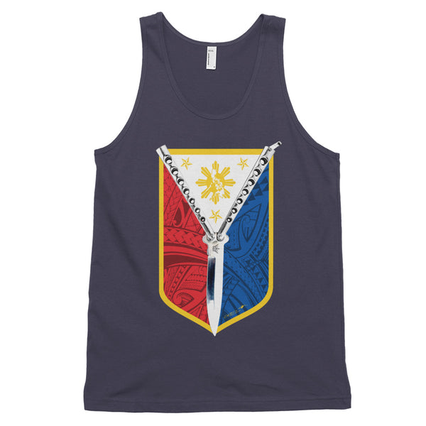 Balisong Shield Tank Tops