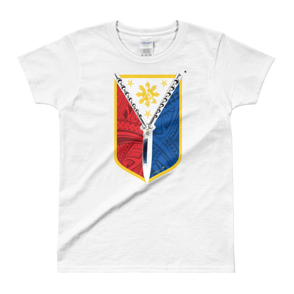 Balisong Shield Ladies' T-shirt