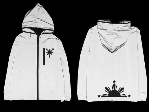 1 Filipino Rising Sun Reflective Jacket
