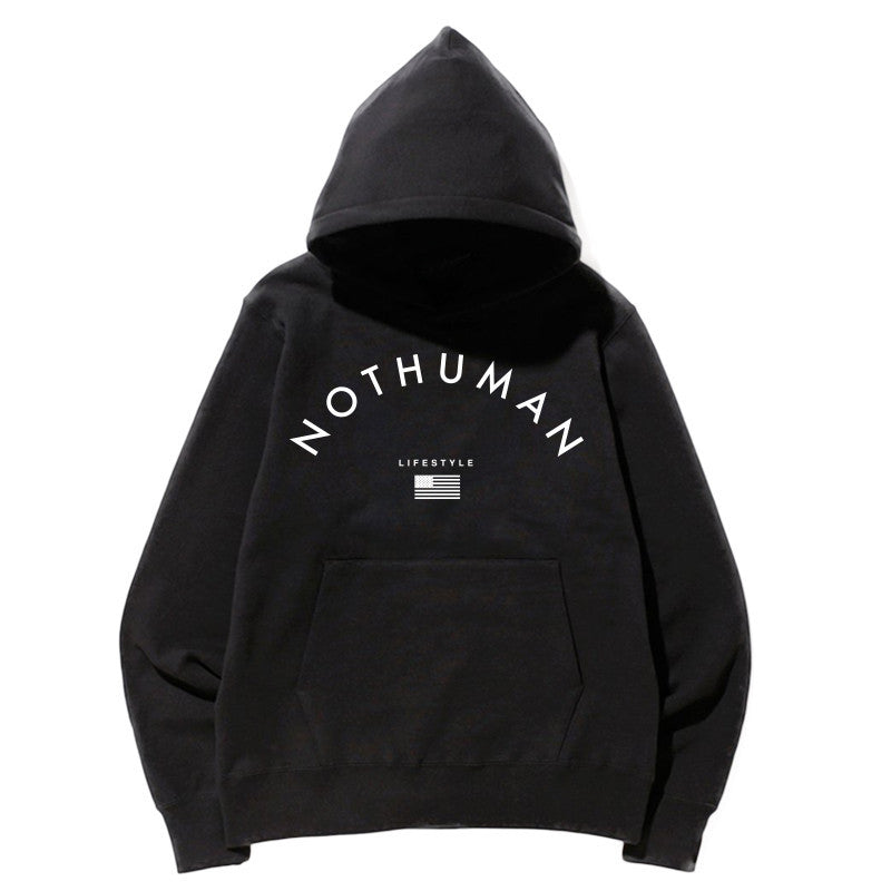 Not Human, LIFESTYLE NECESSITY HOODIE - Hoodie, urban graphic streetwear clothing