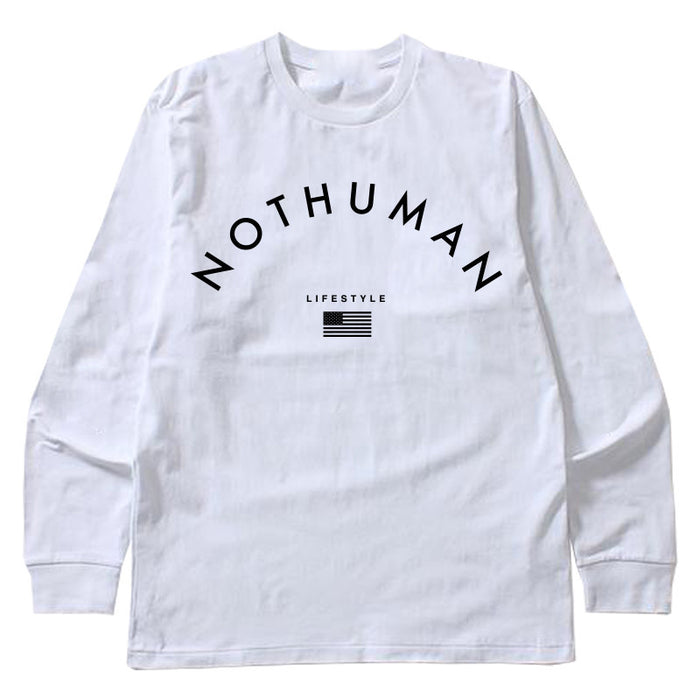 Not Human, LIFESTYLE NECESSITY LONGSLEEVE   LongSleeve, urban graphic streetwear clothing