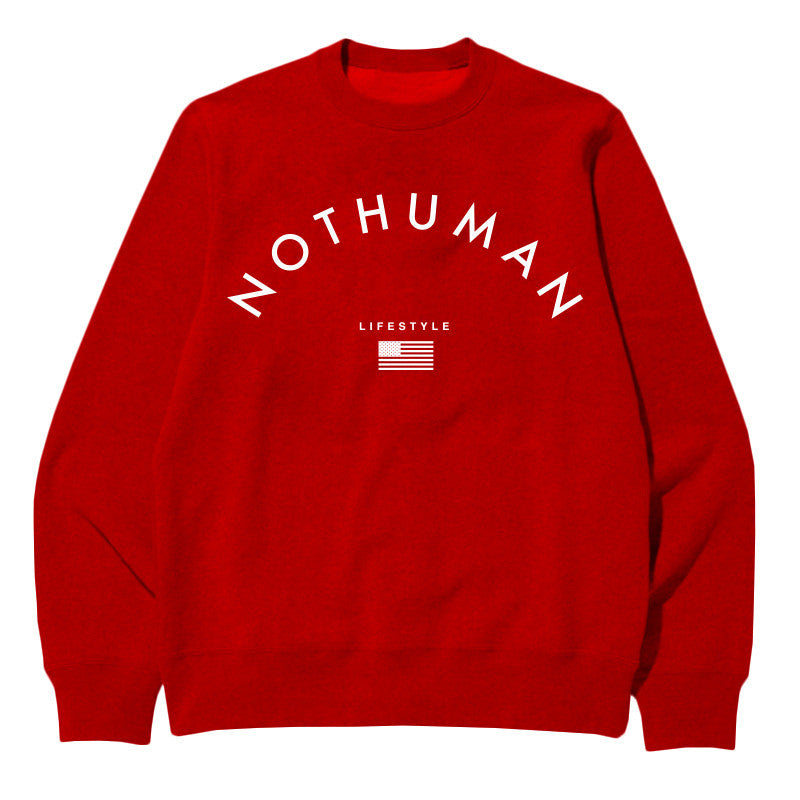 Not Human, LIFESTYLE NECESSITY SWEATER - Sweater, urban graphic streetwear clothing