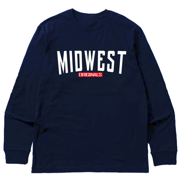 Not Human, MIDWEST ORIGINAL LONGSLEEVE   LongSleeve, urban graphic streetwear clothing