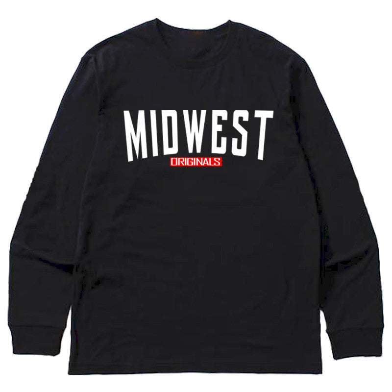 Not Human, MIDWEST ORIGINAL LONGSLEEVE - LongSleeve, urban graphic streetwear clothing