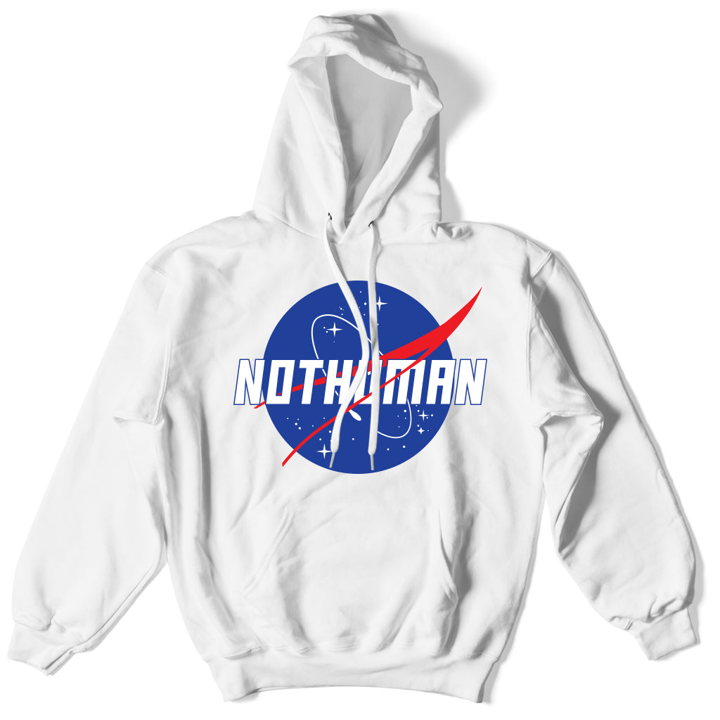 Not Human, NASA Not Human Hoodie - Hoodie, urban graphic streetwear clothing
