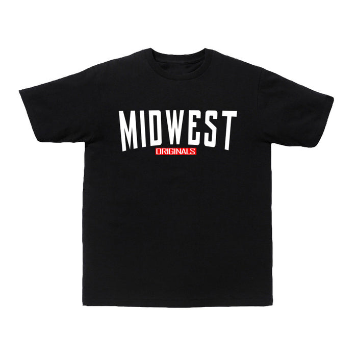 Not Human, MIDWEST ORIGINAL TEE - TShirt, urban graphic streetwear clothing