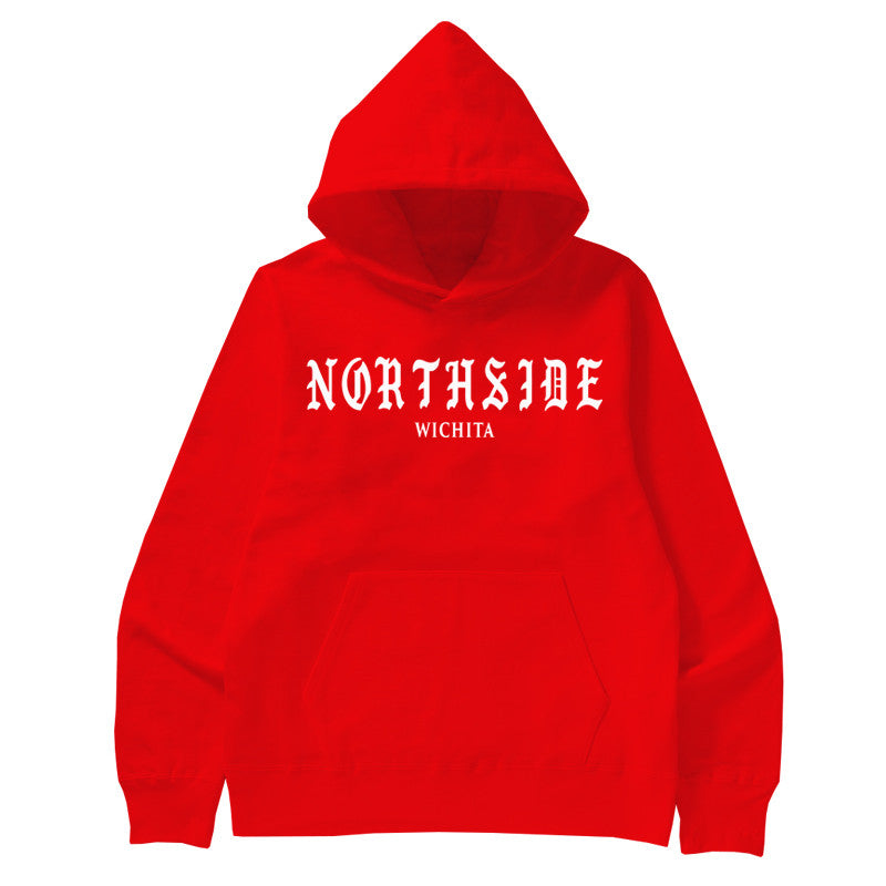 Not Human, NORTHSIDE HOODIE - Hoodie, urban graphic streetwear clothing