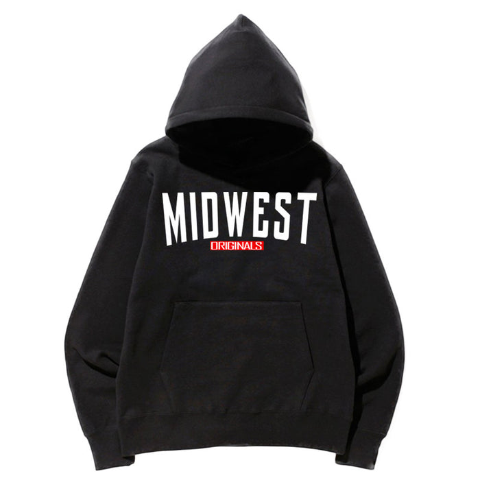 Not Human, MIDWEST ORIGINAL HOODIE - Hoodie, urban graphic streetwear clothing