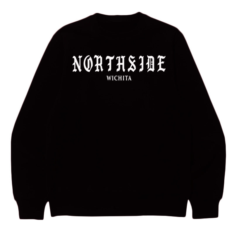 Not Human, NORTHSIDE SWEATER - Sweater, urban graphic streetwear clothing