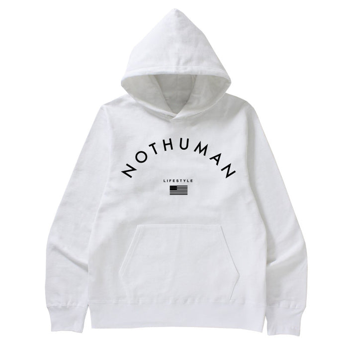 Not Human, LIFESTYLE NECESSITY HOODIE   Hoodie, urban graphic streetwear clothing
