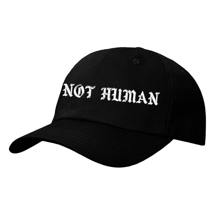 Not Human, P.A.B.L.O. DAD HAT - Hat, urban graphic streetwear clothing
