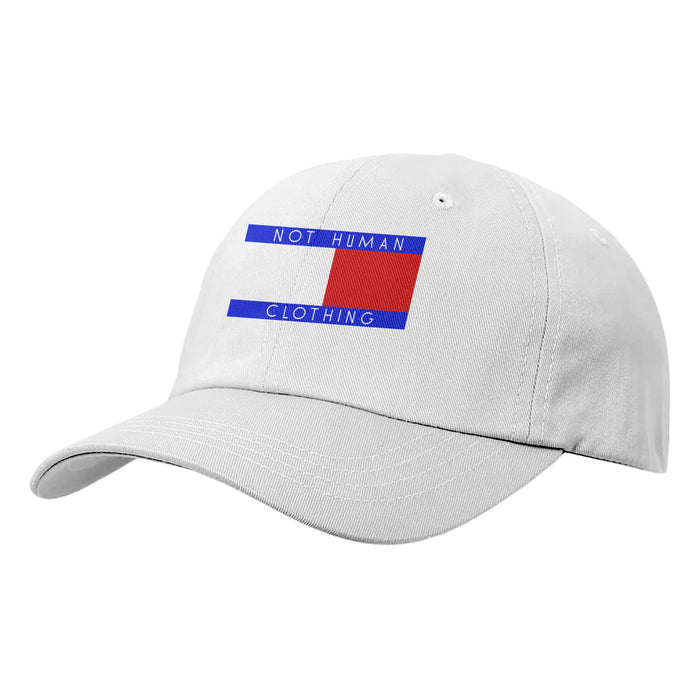 Not Human, TOMMY FLIP DAD HAT - Hat, urban graphic streetwear clothing