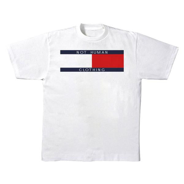 Not Human, TOMMY FLIP TEE - TShirt, urban graphic streetwear clothing