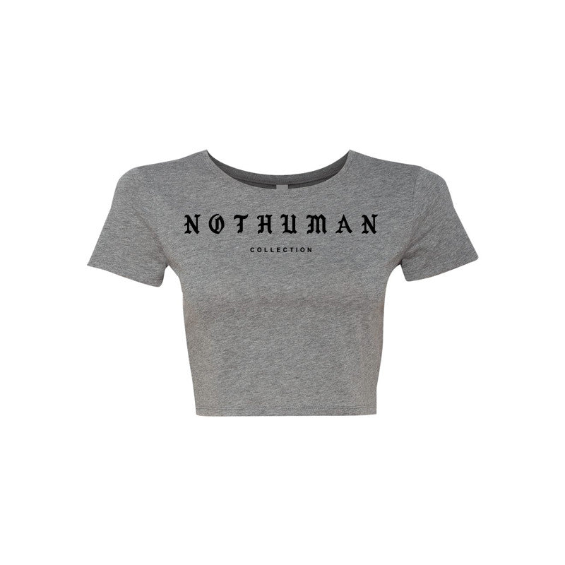 Not Human, P.A.B.L.O. LADIES CROP TOP - Crop Top, urban graphic streetwear clothing