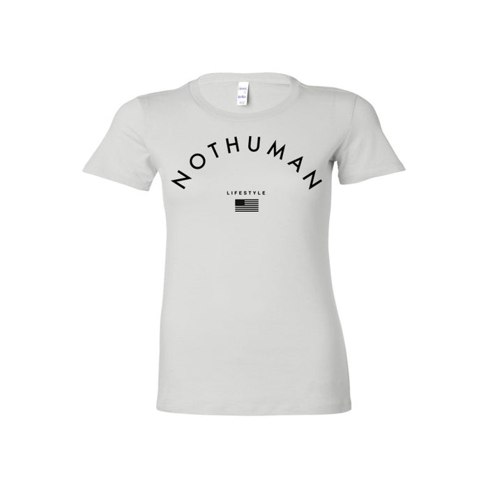 Not Human, LIFESTYLE NECCESITY LADIES TEE - TShirt, urban graphic streetwear clothing