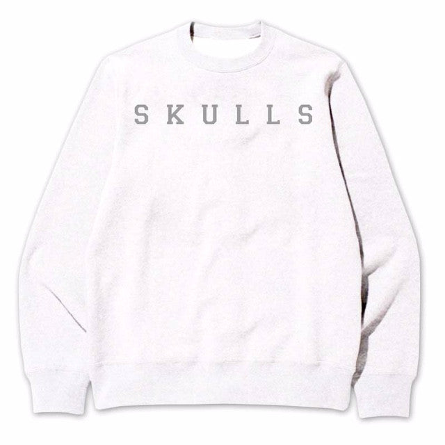 Not Human, SKULLS SWEATER - Sweater, urban graphic streetwear clothing