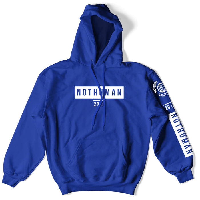 Not Human, NOT HUMAN WORLD COLLECTION HOODIE - Hoodie, urban graphic streetwear clothing