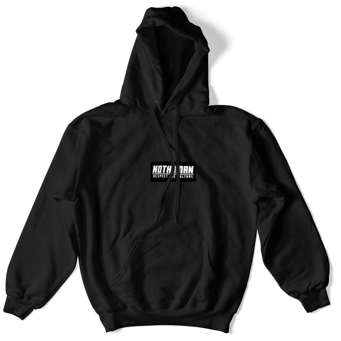 Not Human, Respect the Culture Patch hoodie - Hoodie, urban graphic streetwear clothing