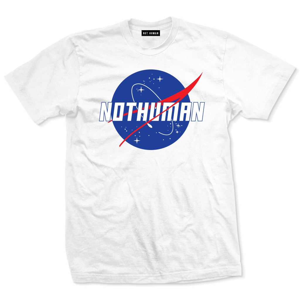NASA Not Human Tshirt