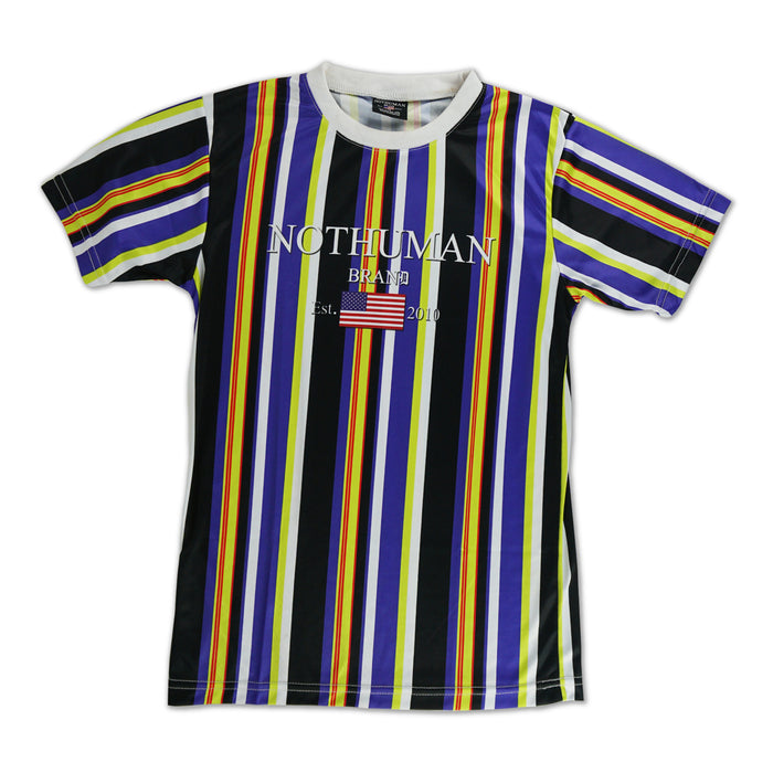 Not Human multistripe Tee
