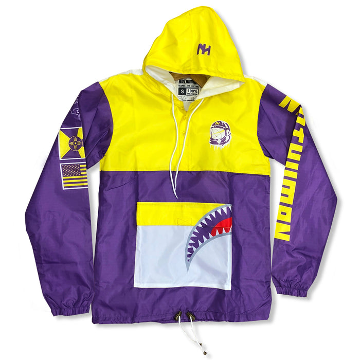Not Human, Laker Big Mouth Pullover - Jacket, urban graphic streetwear clothing