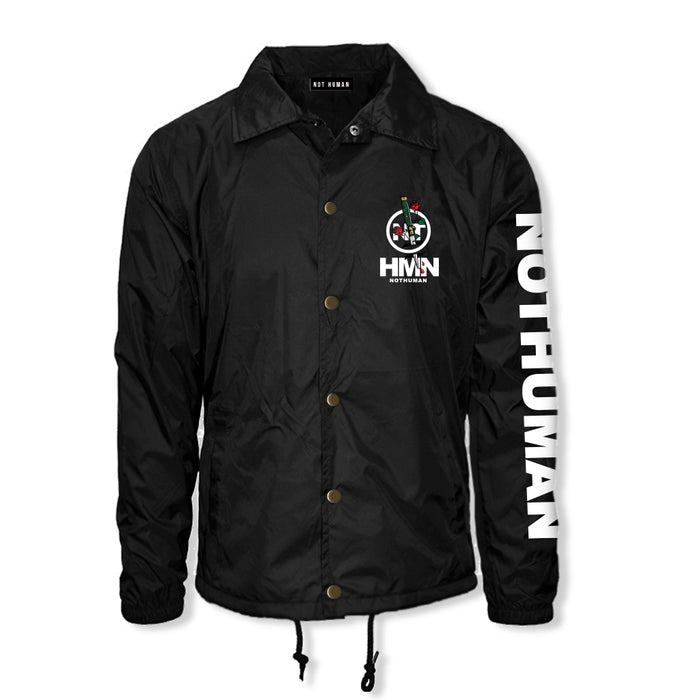 Not Human, Back Stabber Bomber Jacket - Jacket, urban graphic streetwear clothing