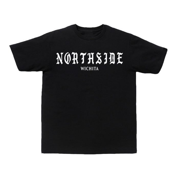 Not Human, NORTHSIDE TEE - TShirt, urban graphic streetwear clothing