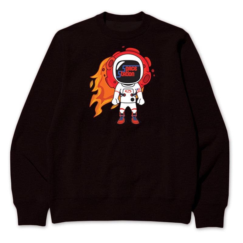 Not Human, SPACE STATION SWEATER - Sweater, urban graphic streetwear clothing