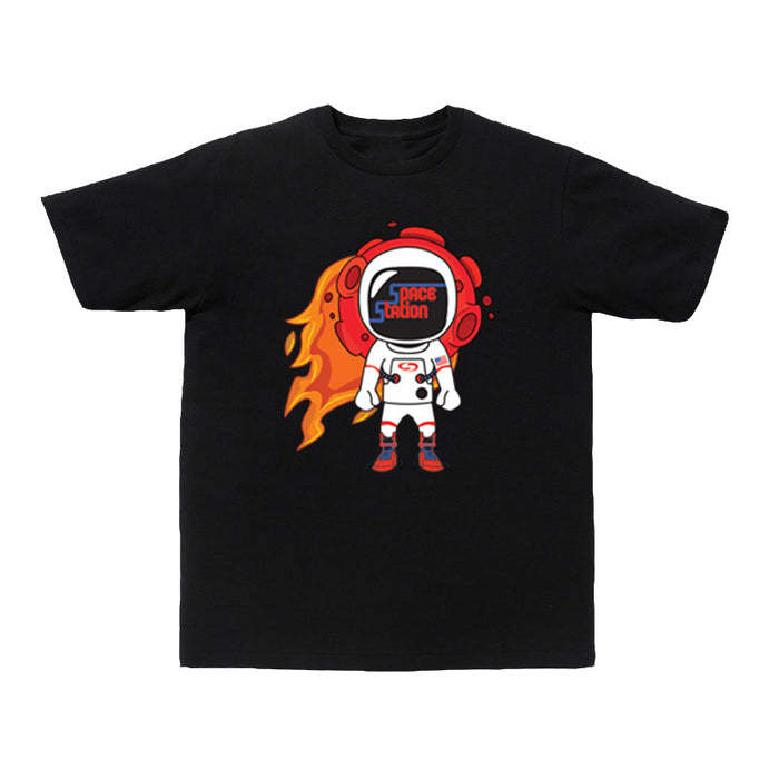 Not Human, SPACE STATION TEE - TShirt, urban graphic streetwear clothing