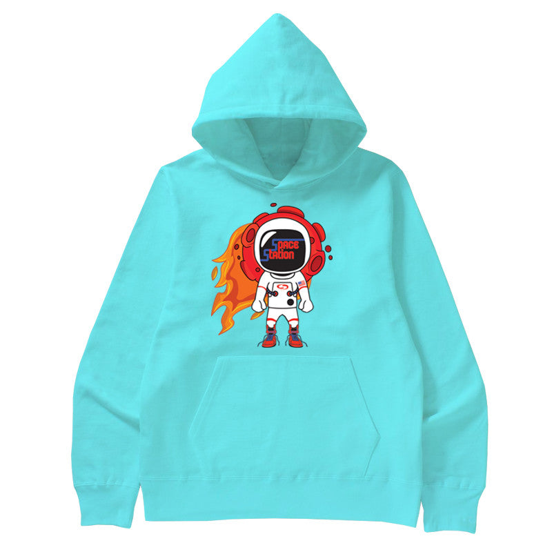 Not Human, SPACE STATION HOODIE - Hoodie, urban graphic streetwear clothing