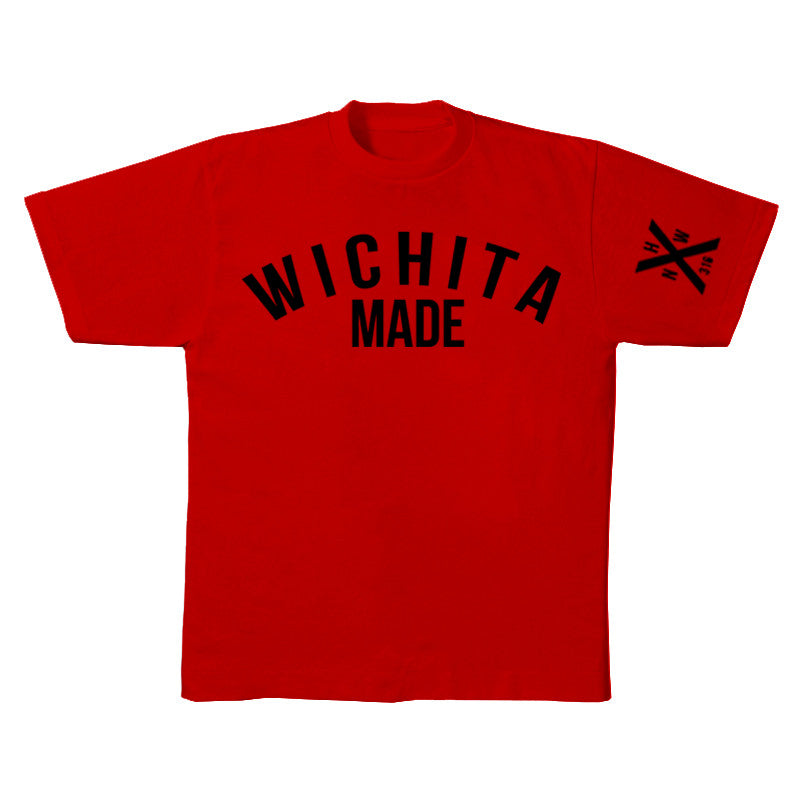Not Human, WICHITA MADE TEE - TShirt, urban graphic streetwear clothing