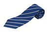 100% Silk Extra Long Striped Tie for Big and Tall Men
