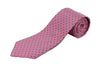 100% Silk XL Polka Dot Tie for Big and Tall Men