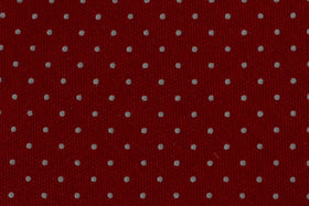 100% Silk Extra Long Tie with Dots for Big and Tall Men