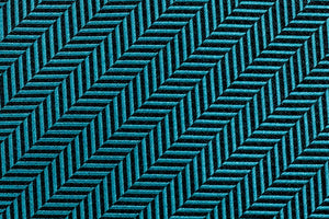 Extra Long Ties - 100% Silk Extra Long Solid Teal Herringbone Tie
