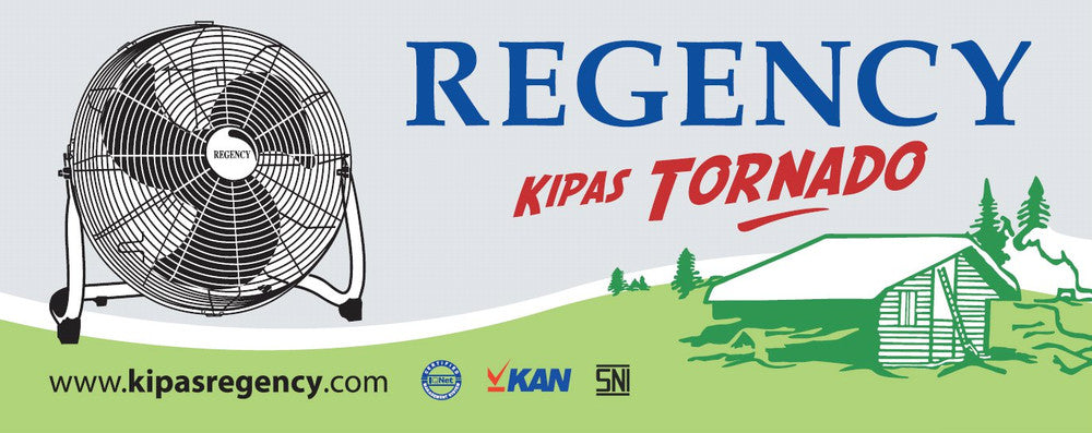 Kipas Angin Regency Tornado Fan Family