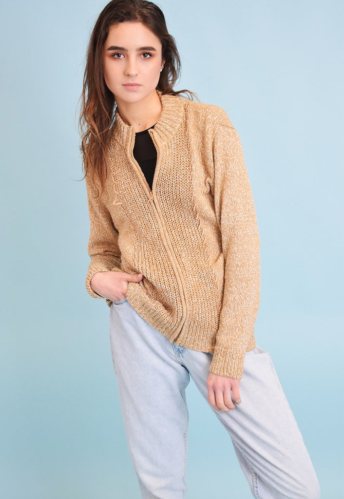 90's retro grunge knitted jazzy cardigan