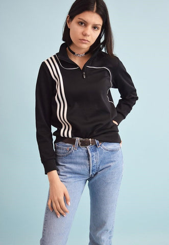 90's retro ADIDAS athleisure sports jumper top