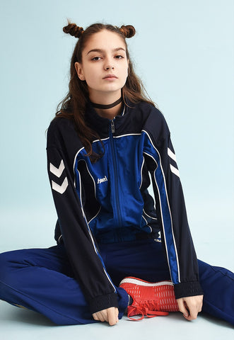 Y2K HUMMEL tracksuit sports jacket top