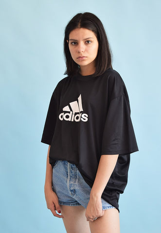 90's retro ADIDAS athleisure oversized t-shirt top tee