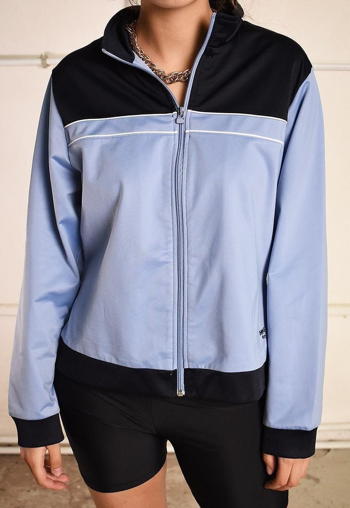 90's retro athleisure festival garm sports tracksuit jacket