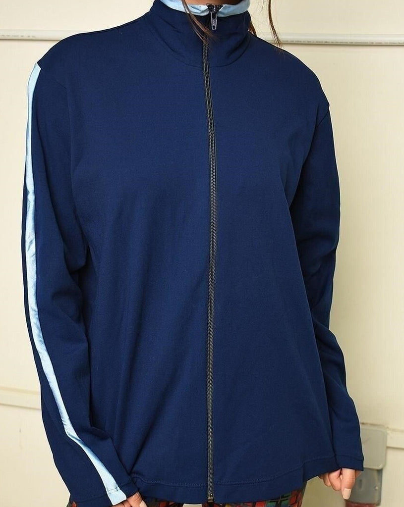 Vintage 70s retro sports tracksuit jacket sweatshirt
